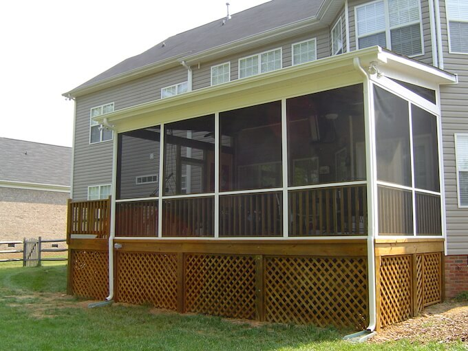 Image Result For How Much Does It Cost To Build A Screened Porch