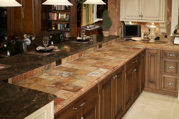 Average Cost Of Granite Countertop 2019 Tile Countertop Costs | Countertop Prices