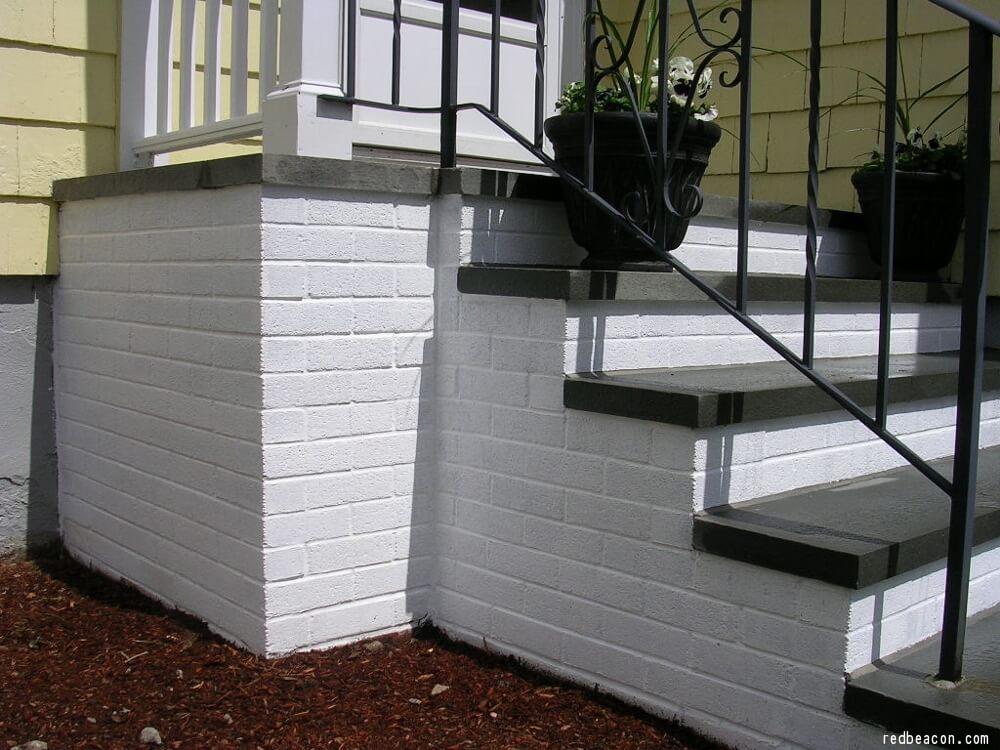 how to paint concrete steps concrete