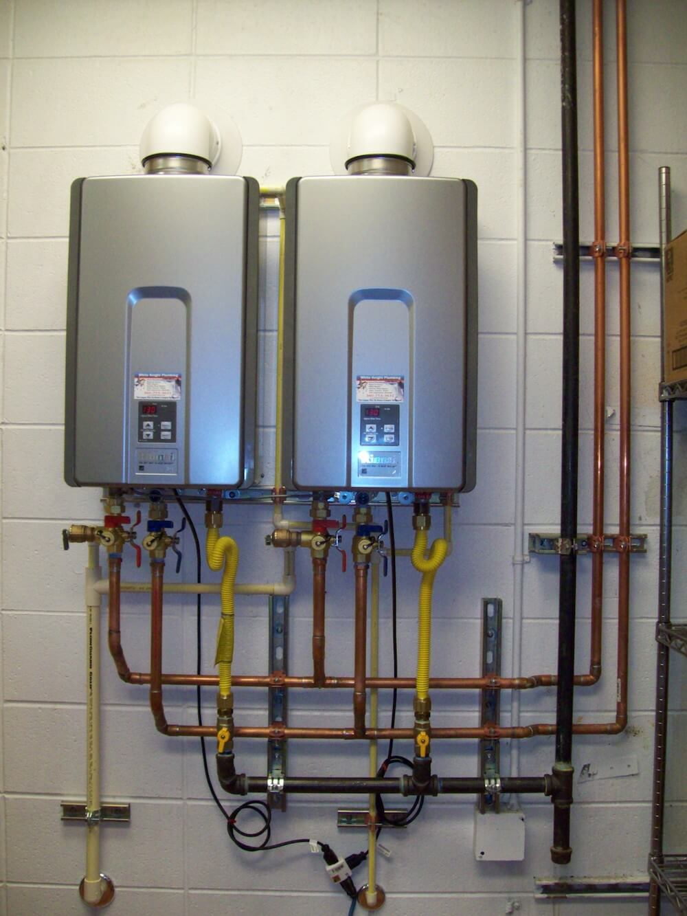 medium resolution of tankless water heater