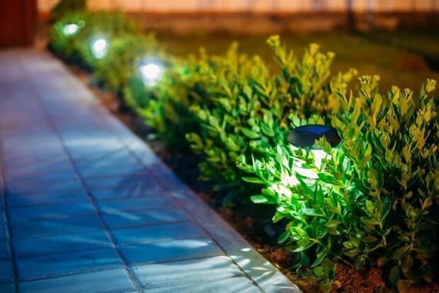 Outdoor Garden Solar Lights Circuit