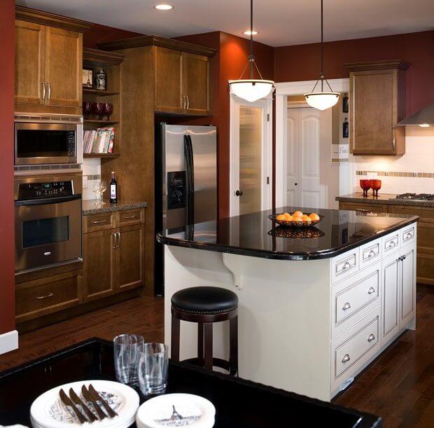 6 Bold  Trendy Kitchen Paint Color Ideas