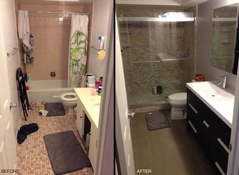 My Small Bathroom Remodel Recap Costs Designs Amp More