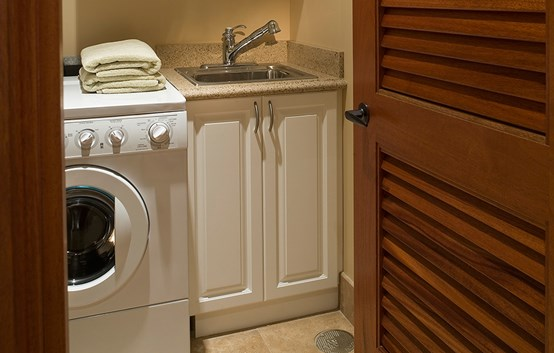 How to Install a Basement Laundry Sink  Laundry Sink Installation