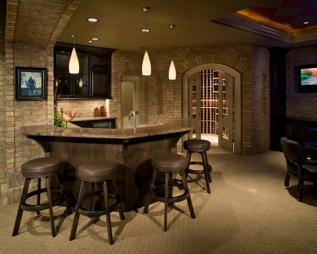 How To Create A Cozy Basement Custom Contracting Inc