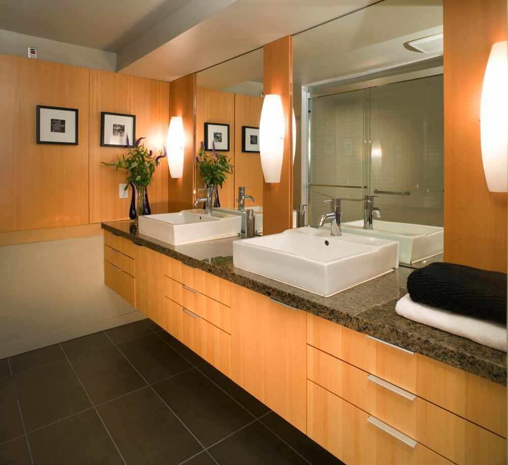 small windowless bathroom ideas