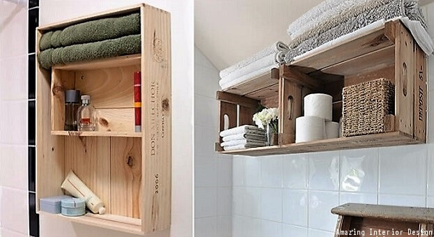 Hanging Crate Storage