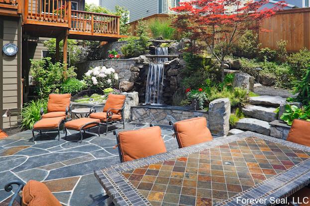 slate pavers cost benefits slate patio
