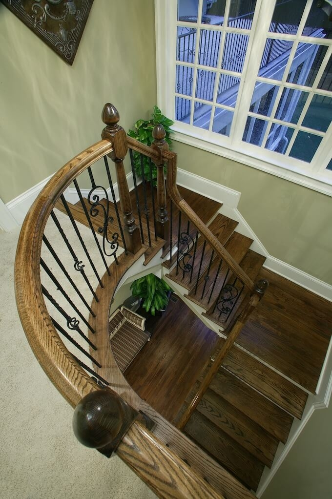 2020 Wood Stairs Installation Cost Repair Wood Stairs | Cost Of Staining Stairs | Stair Railings | Hardwood | Stair Tread | Handrail | Basement Stairs