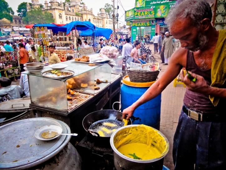 street indian food