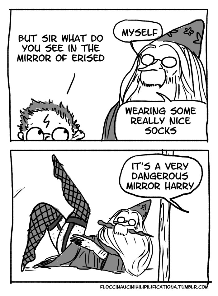 13 Hilarious Harry Potter Comics That Show Dumbledore Was