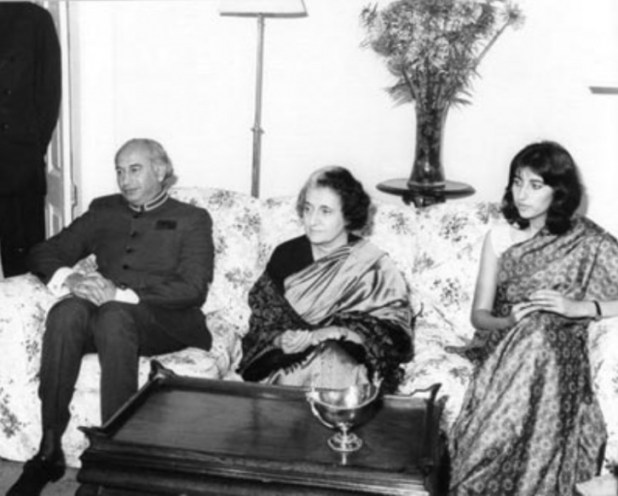 Gandhi and Bhutto