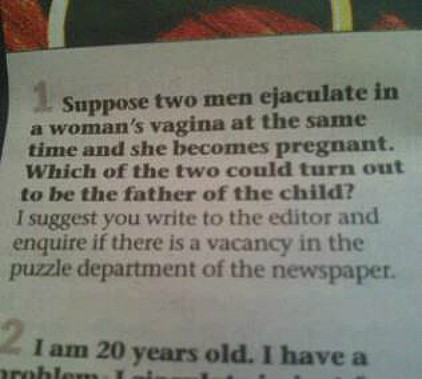 sexpert India newspaper