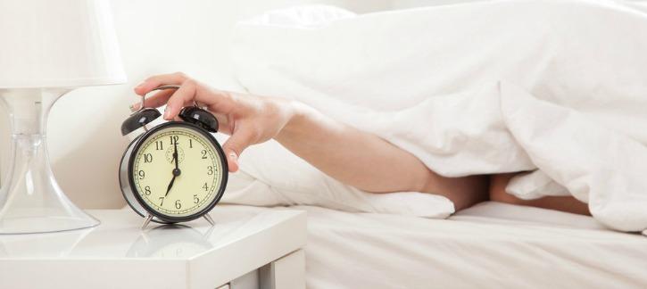 Sleep on time