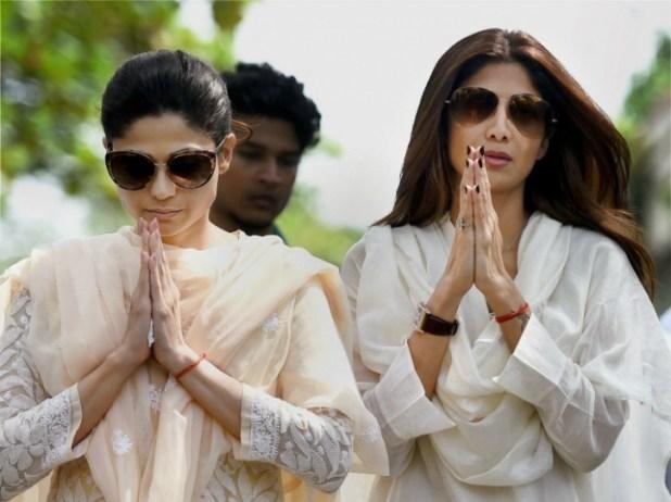 Shilpa and Shamita