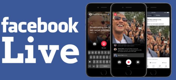 Facebook Live starts in 2015