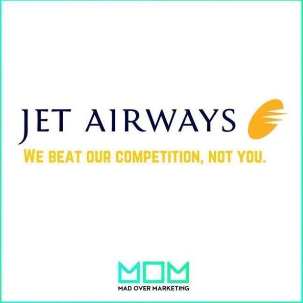 Jet Airways fake ad trolling Indigo