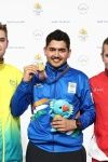 Anish Bhanwala won gold at CWG 2018