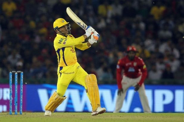 MS Dhoni scored his highest score in T20 cricket