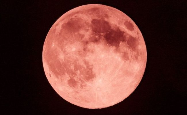 A Brilliant Strawberry Moon Will Be Visible In Night Sky