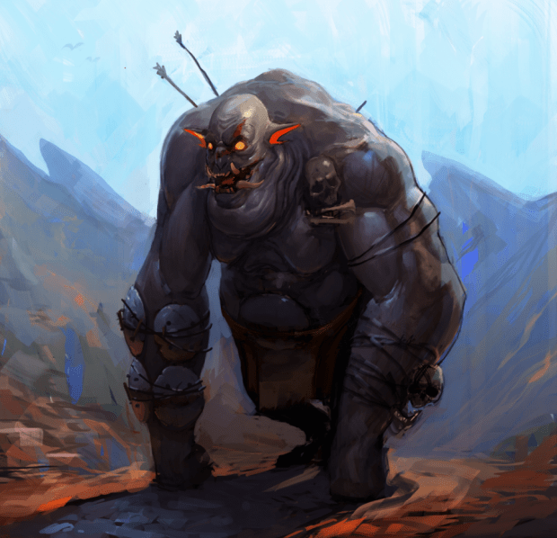 Concept Art Ogre Image Siege Of Inaolia Indie DB