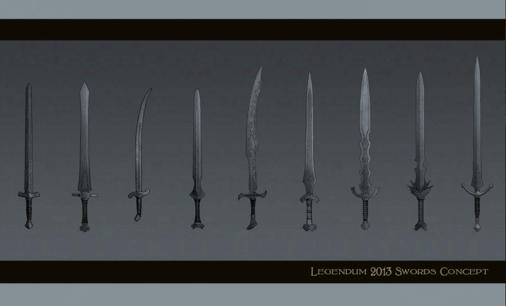 New Weapon Concept Art Legendum RPG news  Indie DB