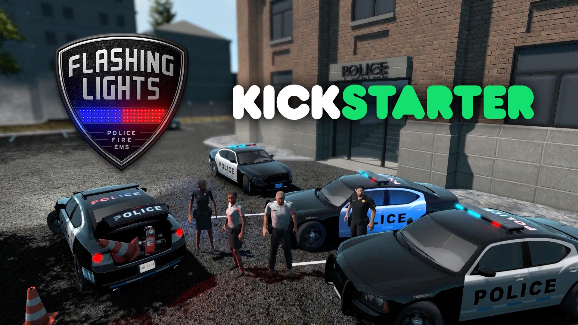 Flashing Lights now on Kickstarter news  Indie DB
