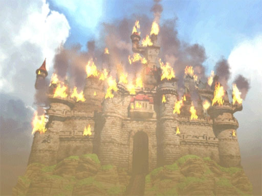 The Burning Castle Image Last Knight Indie DB