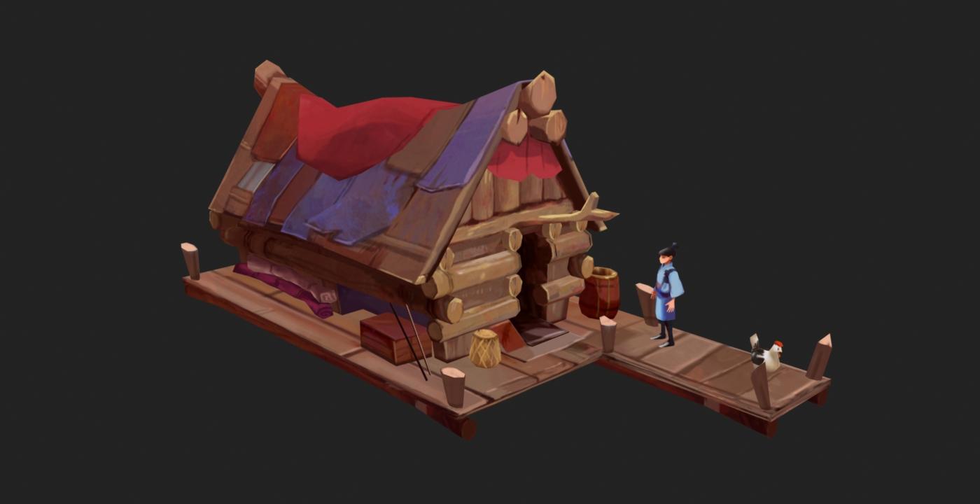 Log Hut Image Patchwork Empire Indie DB