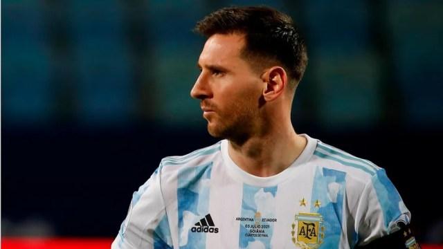 Messi y la mirada puesta en Qatar 2022.