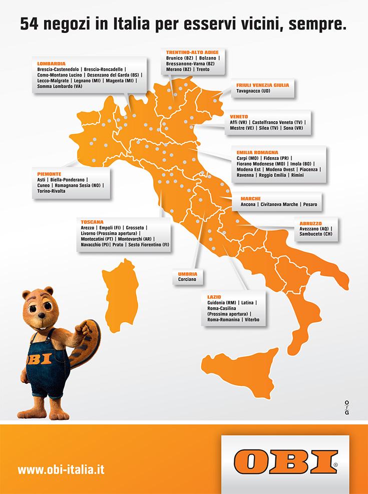 Offerte di lavoro di OBI Italia  InfoJobs