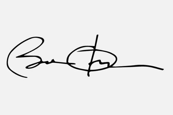 FOTO 17 Tanda Tangan Paling Keren Dalam Sejarah  Barack Obama