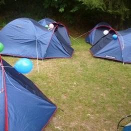Des tentes pour les enfants