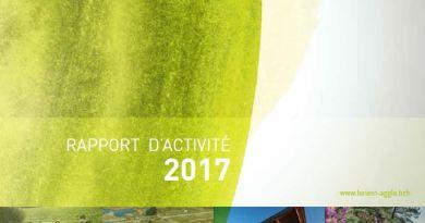 Rapport d'activités 2017 de Lorient Agglomération