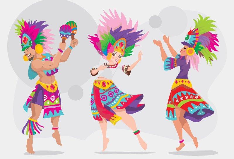 Pixabay Danse Ethnique Costumes Couleurs Fete Carnaval