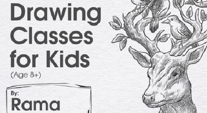 Spactre Masterclass :Online Drawing Classes for Kids (Age 8+)