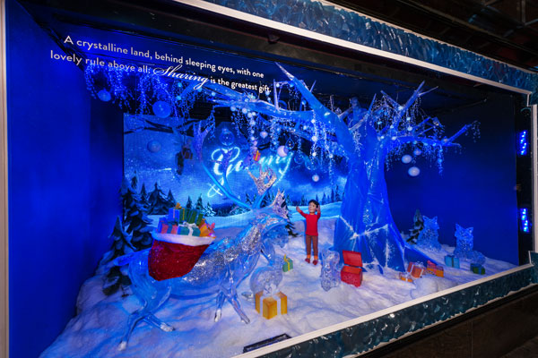NYSID Hosts Panel With Holiday Window Icons