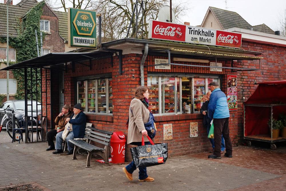 A Lohberg, periferia nord di Dinslaken, nella Renania Settentrionale-Vestfalia, il 28 gennaio 2015. - Dominik Asbach, Laif/Contrasto
