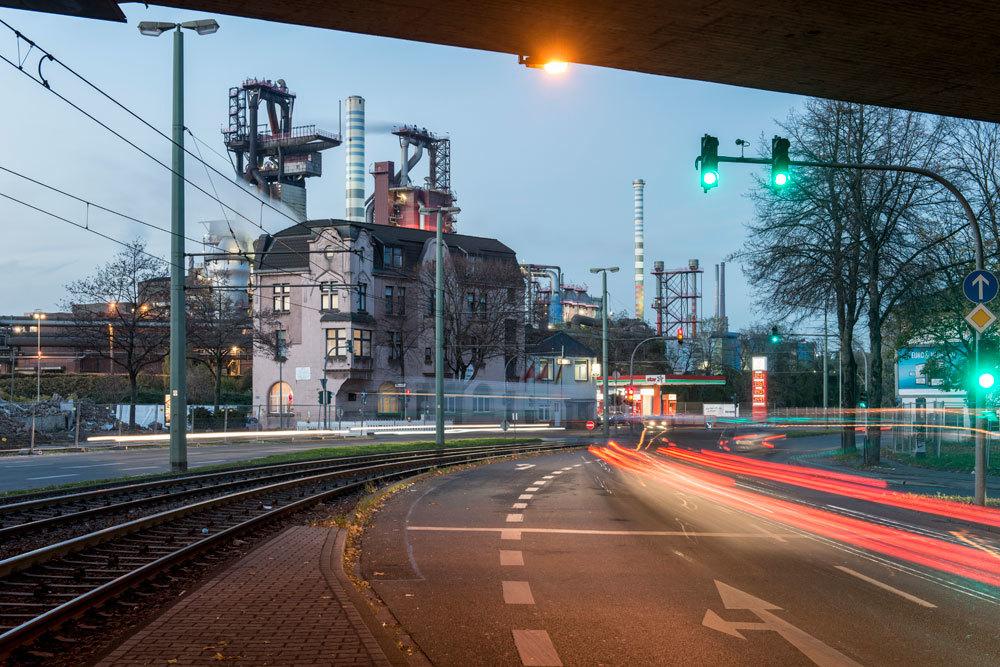Beeck, nel distretto di Duisburg, nella Renania Settentrionale-Vestfalia, il 25 novembre 2014. - Oliver Tjaden, Laif/Contrasto