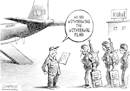 Rimandato il ritiro delle truppe statunitensi dall