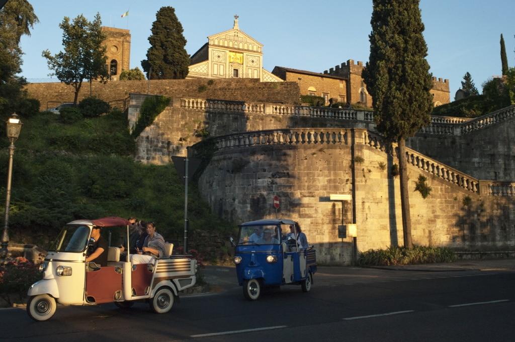 San Miniato al Monte, Firenze, 9 giugno 2018. - Ilaria Di Biagio per Internazionale