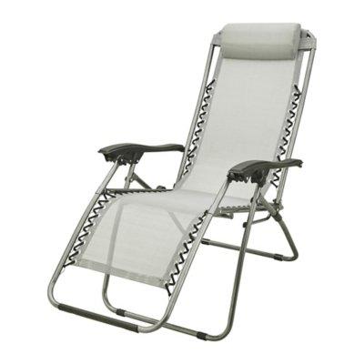 fauteuil de relaxation camping mckinley