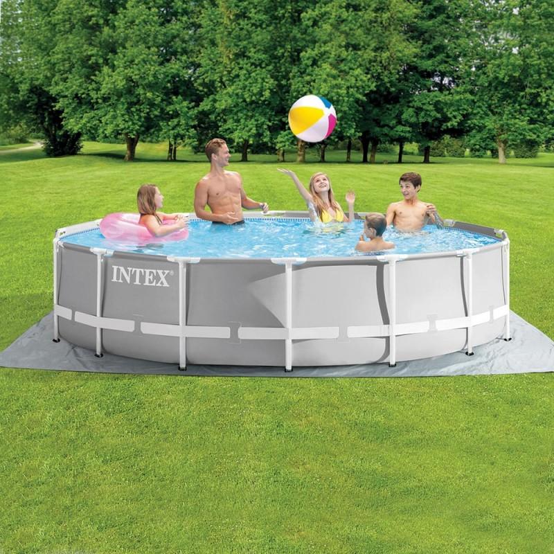 kit piscine prism frame ronde intex 4
