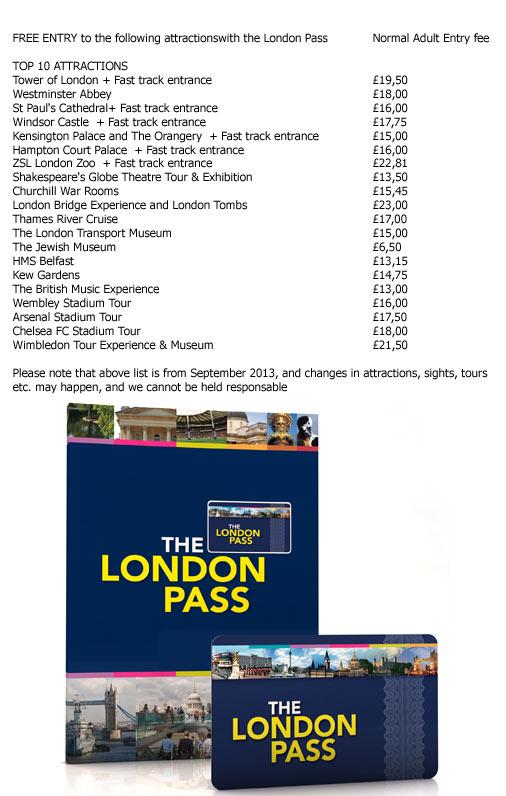 Tickets to The London Pass  LondonTicketsInternationalcom