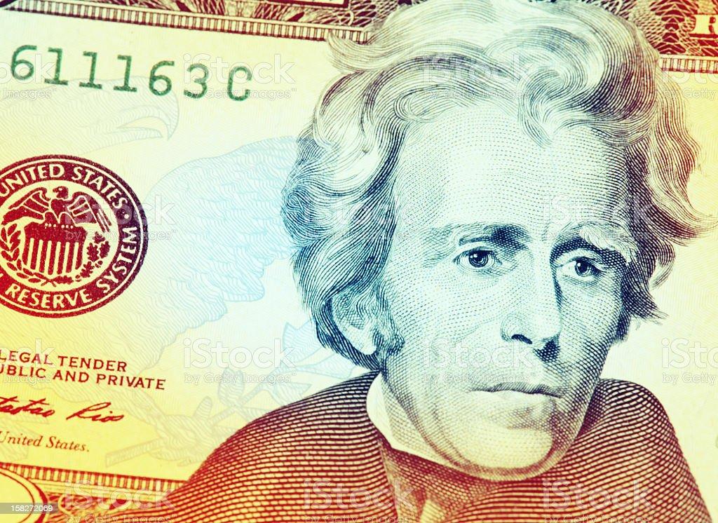 royalty free american twenty dollar