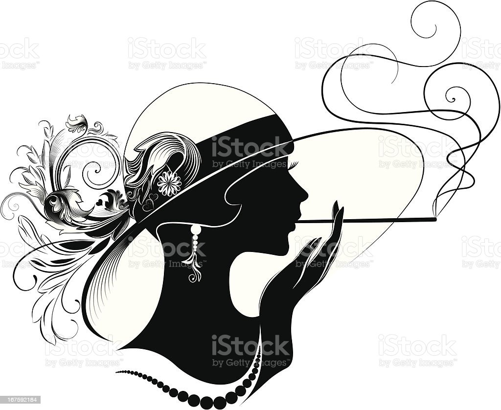 Art Deco Beauty Stock Vector Art & More Images of Abstract