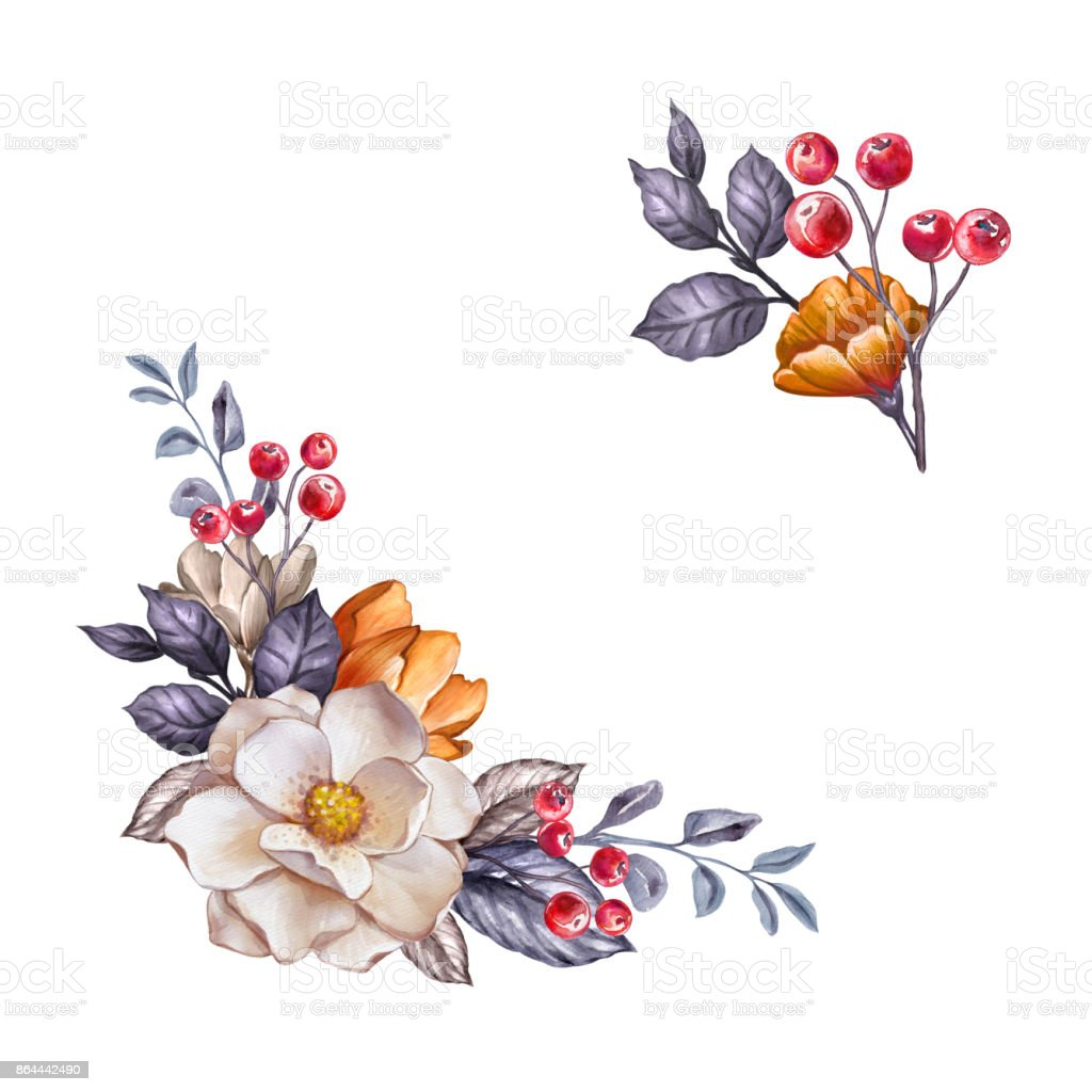 Fall Color Wedding Flowers
