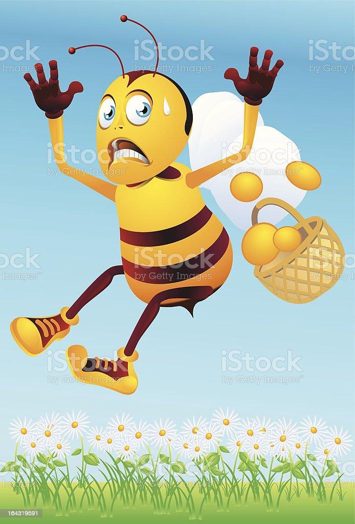 africanized killer bee illustrations