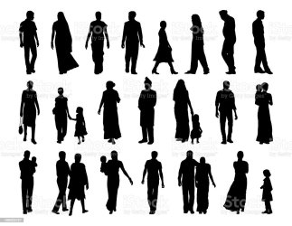 Big Set Of Indian People Silhouettes Stock Illustration Download Image Now iStock