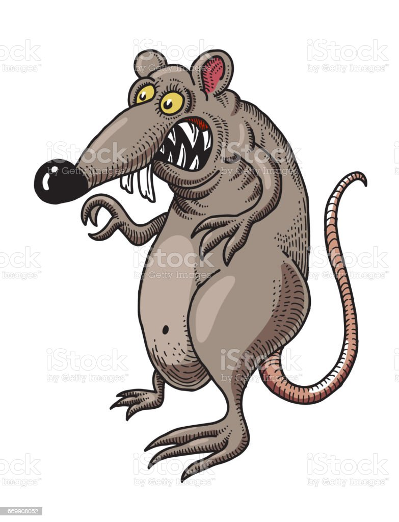 Rat Pictures Cartoon : pictures, cartoon, Cartoon, Image, Stock, Illustration, Download, IStock